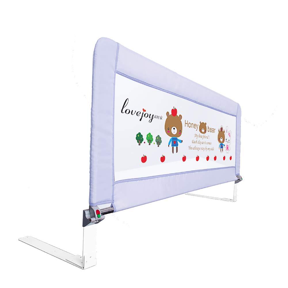 ベッドフェンス- 70cmの高さの安全ベッド幼児用のレールガード、ベッド/スラットベッド、スラット用調節可能なポータブルガードレール、(1面) (サイズ さいず : 80cm) 80cm  B07JQXDHQJ