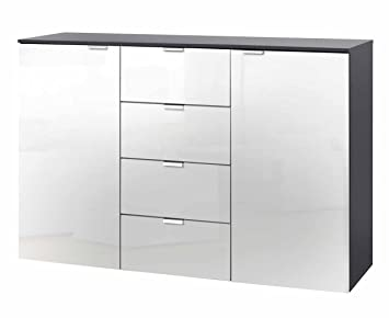 Lifestyle4living Kommode, Sideboard, Anrichte, Highboard, TV Board,  Flurkommode, Schlafzimmerkommode,
