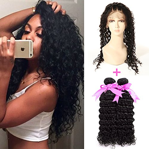 ANNMODE-hair-Deep-Curly-Brazilian-Human-Hair-Ear-To-Ear-360-Lace-Frontal-Closure-With-Bundles-Full-Frontal-Lace-Band-Closure-With-Human-Hair-Weaves