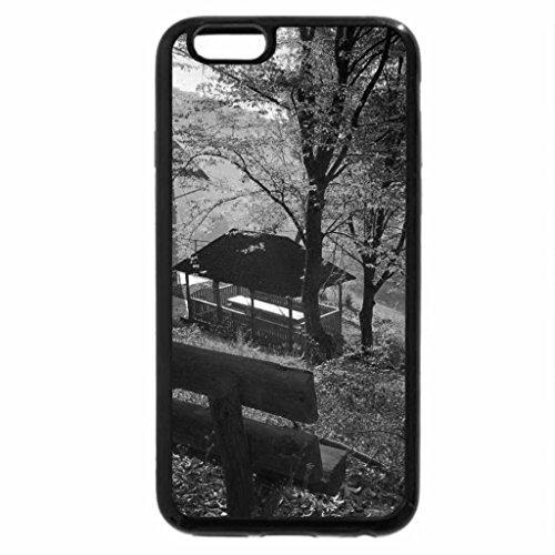 iPhone 6S Plus Case, iPhone 6 Plus Case (Black & White) - Autumn rest