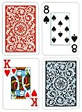 Copag Poker Size Jumbo Index 1546 Playing Cards (Blue Red Setup)