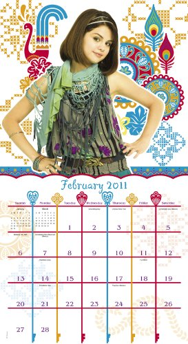 wizards of waverly place 2011 calendar disney amazon in office