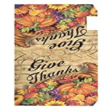 Wamika Give Thanks Thanksgiving Mailbox Cover