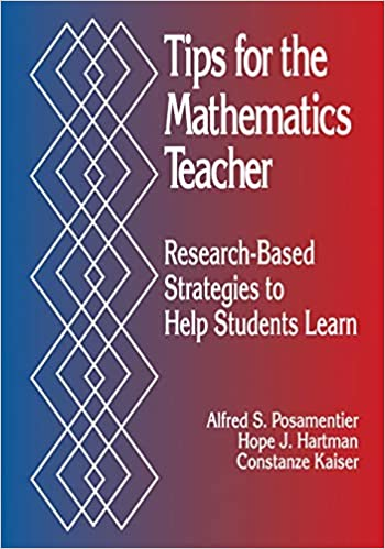 Research Based Strategies To Help >> Amazon Com Tips For The Mathematics Teacher Research Based