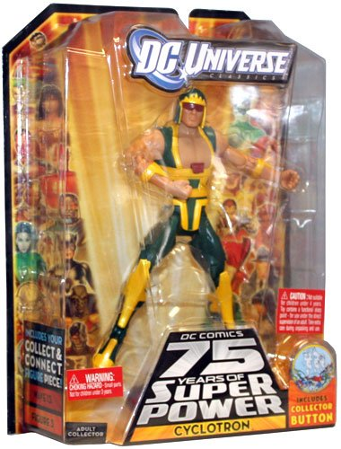 DC Comics 75 Years of Super Power Cyclotron Mattel