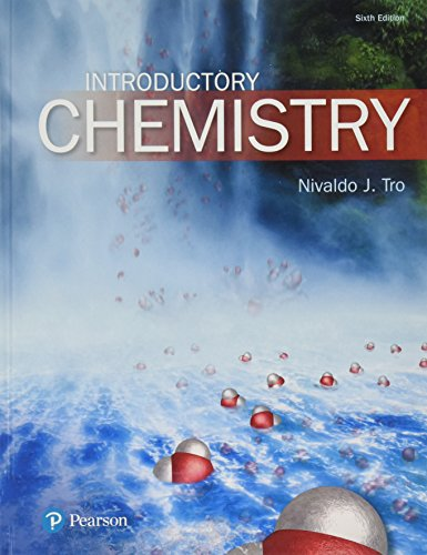 Introductory Chemistry (6th Edition), by Nivaldo J. Tro
