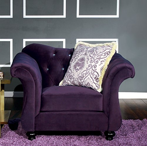 Furniture America Ivorah Glamorous Purple product image