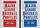 Major League Baseball Profiles, 1871-1900, , 080323533X