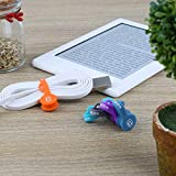 ABZON Magnetic Cable Organizer Earbud Cord Holder