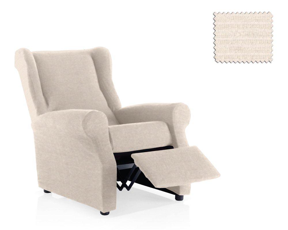 JM Textil Copripoltrona elastica relax Simba dimensione 1 posto (standard), Colore 00 (Vari colori disponibili.)