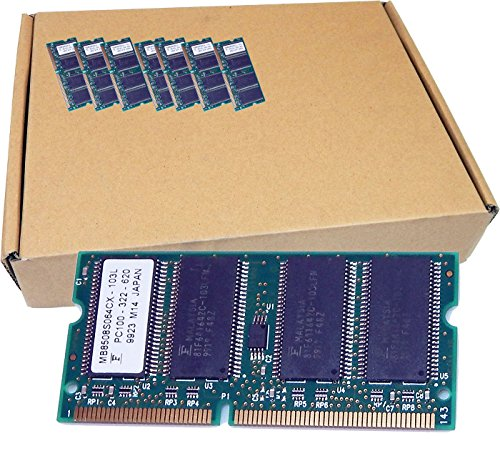 Fujitsu Lot-19 64MB PC100 SODIMM Memory MB8508S064CX-L19 PC100-322-620 for Laptop ()
