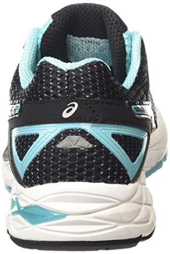 Asics Women's Gel-Phoenix 7 Running Shoes Black (Black/Silver/Turquoise 9093) 67UQugAMHt