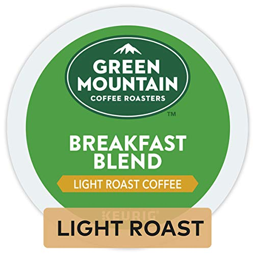 (Green Mountain Coffee Breakfast Blend Keurig Single-Serve Light Roast Coffee K-Cup Pods, 32 Count)