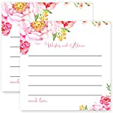 Floral Advice and Wishes Game Cards Pack of 25