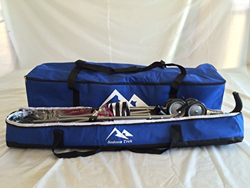 Small Multi-Purpose Bags for Travel Cargo, Sports, Camping, Hunting, Fishing Gear, Child Car Seats, All Strollers, Joggers, Storage, Tough Ballistic Fabric, Multilayered, Padded, Waterproof by Sedona Trek (Image #3)