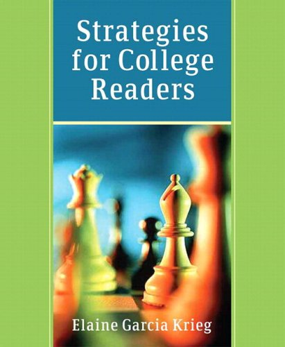 Strategies for College Readers (with MyReadingLab Student Access Code Card)