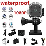 Meiyiu Waterproof HD 1080P DVR Sport Video Camera Wide-Angle Mini Camcorder