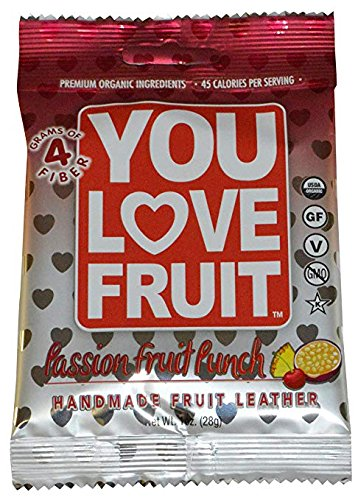 You Love Fruit Leather Passion Fruit, 1 oz
