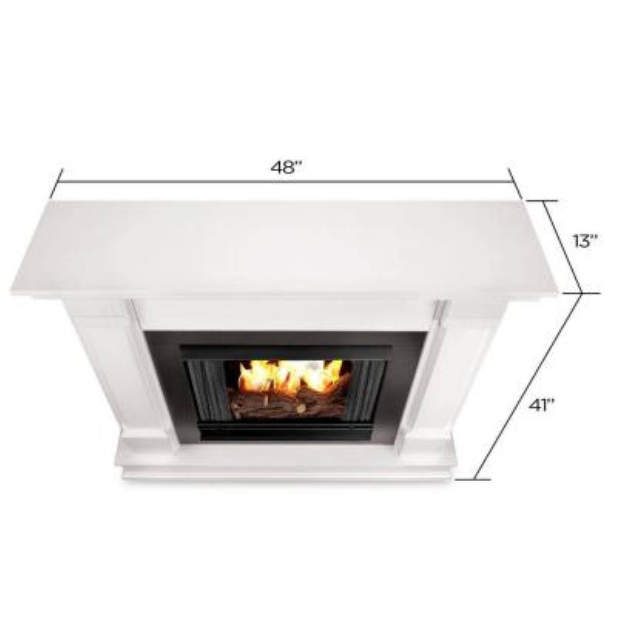 Buy Silverton Gel Fireplace in White: Gel & Ethanol Fireplaces - Amazon.com ? FREE DELIVERY possible on eligible purchases