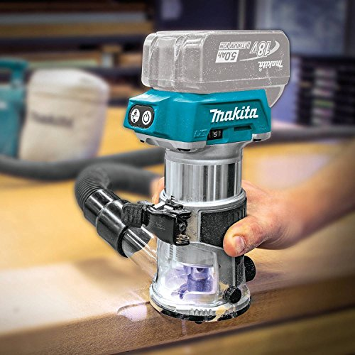 Makita XTR01Z 18V LXT Lithium-Ion Brushless Cordless Compact Router by Makita (Image #3)