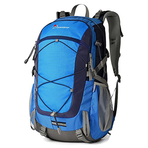 Duhud Mountaintop 40L Hiking Backpack Lightweight Camping Backpack Frame Pack Outdoor Sports Travel Backpacking Climbing Trekking Mountaineering