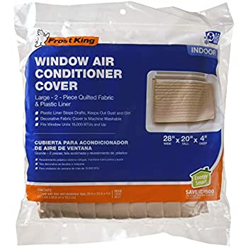 Amazon Com Frost King 2 Piece Quilted Indoor Air