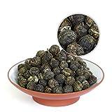 GOARTEA 1000g (35.2 Oz) Organic Premium Jasmine Dragon Pearl Ball Loose Leaf Chinese Green TEA ON SALE For Sale