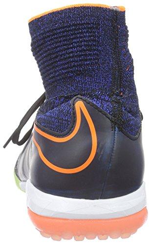 Nike Jr Hypervenomx Proximo TF, Scarpe da Calcio Unisex bambini Nero (Negro (Black / Black-ttl Orange-rcr Bl))
