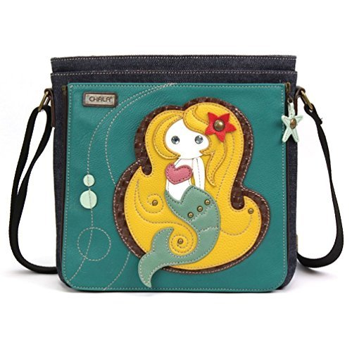 (CHALA Deluxe Messenger Bag Mermaid)