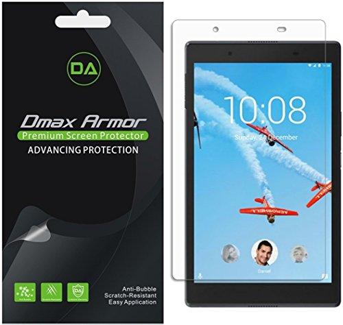 [3-Pack] Dmax Armor for Lenovo Tab 4 8 Anti-Glare & Anti-Fingerprint Screen Protector - Lifetime Replacement