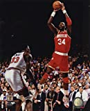 Great Art Now Hakeem Olajuwon Game 4 of the 1994 NBA Finals Action Art Print, 8 x 10 inches