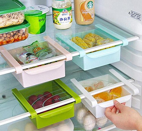 GreenSun(TM) Moveable fresh box in the refrigerator Sliding Drawer Organizer Shelf Efficient Storage Rack Fresh Layer Storage Rack (Toaster Oven Under Cabinet Mount compare prices)
