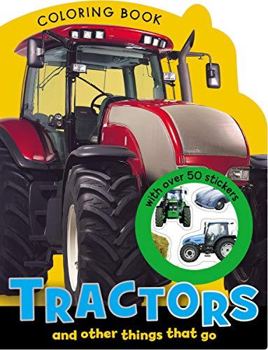 - Tractors Mini Coloring Book