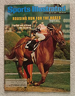 Affirmed - 1978 Kentucky Derby Winner - Sports Illustrated - May 15, 1978 - Horse Racing, Steve Cauthen - SI