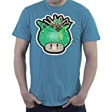 Super Mario Mushroom Facehugger Alien Men's T-Shirt