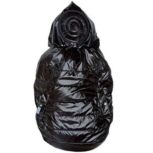 carryboo 4estaciones bolsa de Portage Negro Talla:Única CBO-4-BLACK