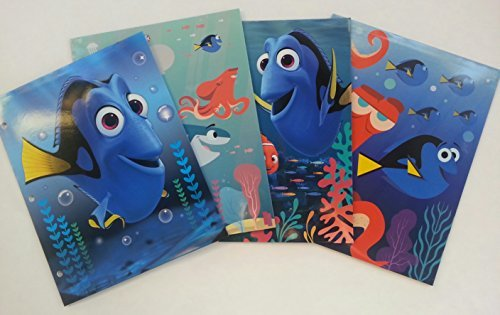 Finding 2 (Disney Pixar Finding Dory 2-Pocket Assorted Portfolio Folders- 2 Pack)