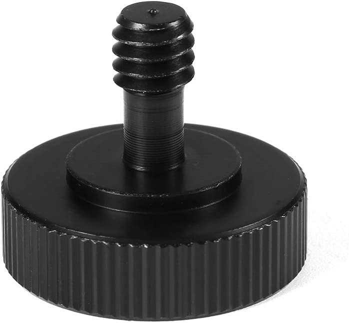 Madezz Camera Screw Adapter 1//4 Male to 1//4 Female Screw Adapter Hot Shoe for Camera Tripod Bracket Stand