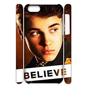 Justin Bieber Personalized 3D Cover Case for Iphone 5C,customized phone case ygtg-700986