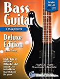 Bass Guitar Primer Book for Beginners - Deluxe Edition with DVD and CD