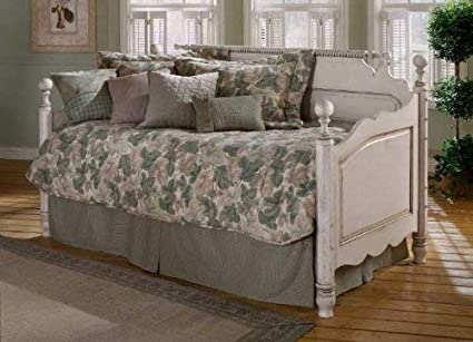 Hillsdale Furniture 1172DBLH Wilshire Daybed with with Suspension Deck,  Antique White