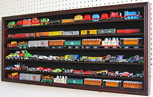 Large Ho Rr Scale Train Display Case Cabinet Shadow ()