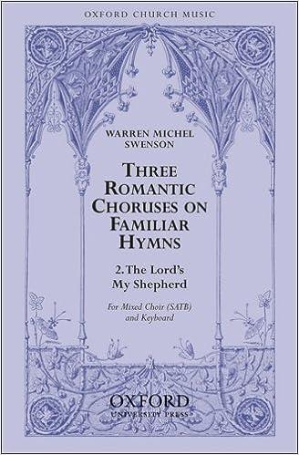 Download gratuito di audiolibri in inglese The Lord's my shepherd: Vocal score PDF FB2 0193867524