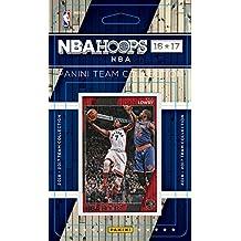 Toronto Raptors 2016 2017 Hoops Basketball NBA Licensed Brand New Factory Sealed 11 Card Team Set Kyle Lowry DeMar DeRozan and Jakob Poeltl Rookie Plus