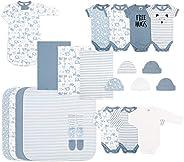 The Peanutshell Newborn Essentials Layette Gift Set for Baby Boys or Girls