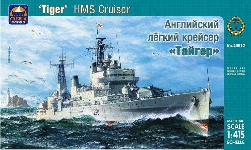 Ark  Models AK40012 1:415 Scale HMS Tiger British Light Cruiser Plastic Model