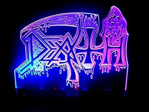 Death Metal Rock Band LED Light Lamp Man cave Room Decor (San Francisco Slaughter)