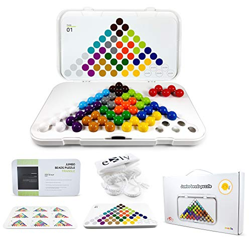 Smart IQ Mind Puzzle Games - Logic Brain Teasers Stem Learning Therapy Educational Toys for Kids Adults