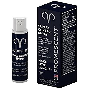 Promescent Prolonging Delay Spray for Men Clinically Proven to Help You Last Longer in Bed - Better Maximized Sensation + Longer Time to Climax For Him,1.3 ml