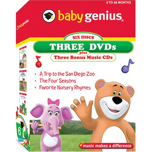- Baby Genius 3 Pack - Volume 1